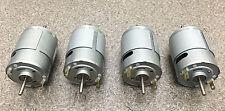 Mabuchi 12V DC Motor 2100-2900 rpm DUAL SHAFT hobbies RC CARS, (LOT of 4 motors)