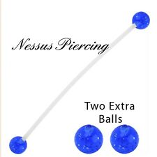 bioflex pregnancy acrylic belly bar piercing maternity banana bar navel colorful