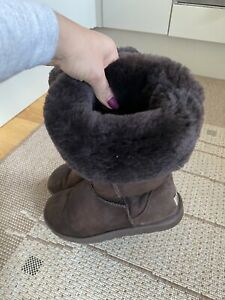 Brown Tall Classic Ugg Australia Boots, Size Uk5/38