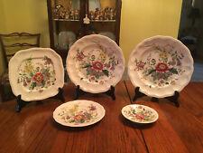 Vintage 5pc Set of Copeland Spode Raeburn Dishes, #S/230, Great Britain