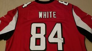 Mens Nike Roddy White Jersey L Large Red Athletic Atlanta Falcons