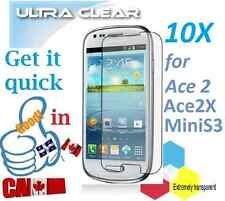 10X HD clear screen protector Samsung Galaxy MiniS3 Mini S3 ACE 2X protecteur