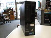 HP SlimLine Pro 3300- Windows 10 Pro, Core i3 (2nd), 8GB Ram - Charity