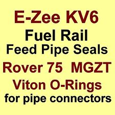 A* BEST KV6 Fuel Rail Feed Pipe VITON O Ring Seals for Rover 75 and MG ZT V6