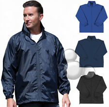 Mens Spray Jacket Size XS S M L XL 2XL 3XL Winter Rain Coat New!