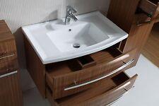Bathroom Ceramic Cabinet single basin two drawers board painting gloss AR3003