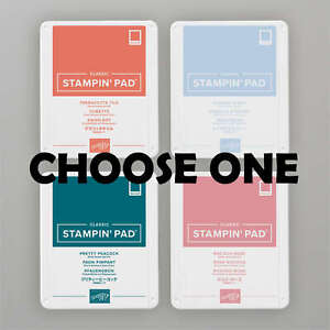 Stampin' Up! 2019-2021 In Color Classic Stampin' Pad - CHOOSE 1 - NEW