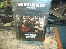 Datacards Orks 8th Edition - Warhammer 40k 40,000 Data Cards New!