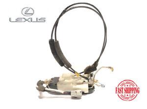 92-00 LEXUS SC300 SC400 DRIVER SIDE LEFT POWER DOOR LATCH LOCK ACTUATOR W CABLES