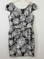 [ REVIEW ] Womens Floral Peplum Dress | Size AU 14 or US 10