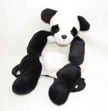 VTG PANDA BEAR MANGO TEDDY BEAR CO BACKPACK SACK ZIPPERED BAG