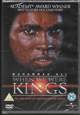 WHEN WE WERE KINGS GENUINE R2 DVD MUHAMMAD ALI RUMBLE IN THE JUNGLE NEW/SEALED