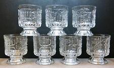 Trinkgläser Wasserglas 7 Stück 60/70er Jahre  Relief Spiegelau