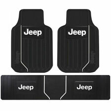 New 3pcs JEEP Elite Style Car Truck Front Rear Runner All Weather Floor Mats