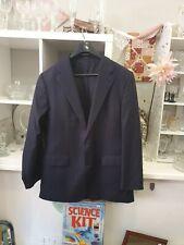Feraud Navy Wool/silk Suit Jacket Size 54