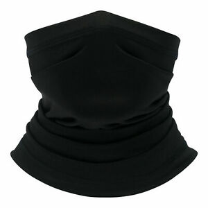 Face Mask Tube Neck Scarf Snood Cycling Bike Sport Covering Plain Summer Gift