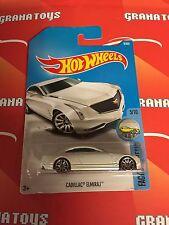 Cadillac Elmiraj #8 White Factory Fresh 5/10 2017 Hot Wheels Case A