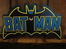 NEW METAL SIGN BATMAN LOGO marvel dc comic superhero emblem retro style movie