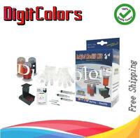 Self refill kit for HP 60 HP 61 HP 901 HP 121 HP 121XL CMY ink cartridge w tools