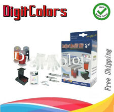 Cartridge refill ink bottle kit box for HP 61 61xl HP 60 60xl color ink w tools