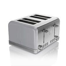 Swan ST19020GRN Retro 4 Slice Toaster Grey From AO