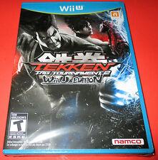 Tekken Tag Tournament 2 - Wii U Edition - Nintendo WiiU New! Free Shipping!