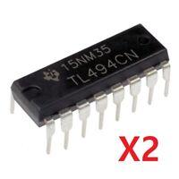 Circuito Integrado TL494CN - DIP 16 - Controlador PWM - Pack De 2 Unidades