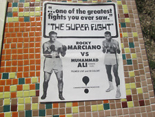 MUHAMMAD ALI vs ROCKY MARCIANO 1969 Boxing SUPERFIGHT Promo Cover Poster