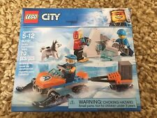 LEGO 60191 Arctic Exploration Team Set City Snowmobile Husky Dog Snow Shoes NEW