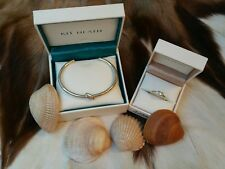KIT HEATH PLATA SET PULSERA Y ANILLO