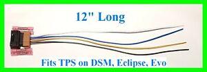 TPS Throttle Position Sensor Pigtail Connector 3000GT DSM 1G 2G Eclipse Evo 8 9