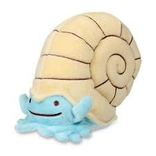 New Pokemon Center Ditto As Omanyte Plush - 5 1/4 In.