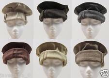 Handmade afghan pakol pakul wool hat cap topi for men and women from Pakistan