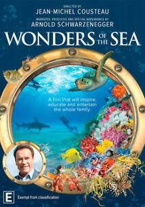 Wonders Of The Sea DVD NEW Region 4 Arnold Schwarzenegger