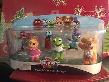 Disney Junior Muppet Babies Playroom Figure Set Of 6 Figures.