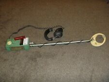 "Vintage Garrett Bfo Discriminator ""Money Hunter"" Metal Detector & Headphones"