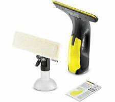 KARCHER WV 2 Window Vacuum Cleaner Microfibre Cloth Black Edition - Currys