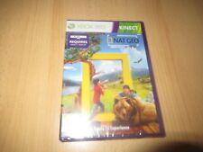 Xbox 360 Kinect Nat Geo Tv America The Wild Nuevo Sellado Pal Versión