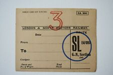 Railway Wagon Label - London & North Eastern Railway