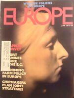 Europe Magazine Rodin's MMe Vieuna June 1987 101517nonrh