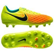 Nike JR Magista Opus II Fg Kids Soccer Cleats Boys Size 4.5 (844415 708) Yellow