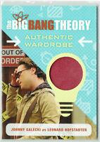 The Big Bang Theory Season 6 & 7 Wardrobe Card M09 Johnny Galecki as Leonard