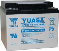 NPC38-12 38Ah 12c Cyclic Yuasa Lead Acid battery