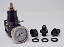 Aeromotive Style 13130 30-70Psi Fuel Pressure Regulator Gauge EFI Bypass An6 Fpr