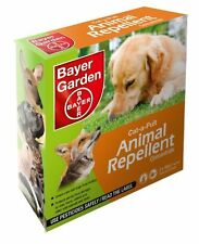New Bayer Cat A Pult Animal Cat And Dog Repellent Concentrate 2x 50g Sachets