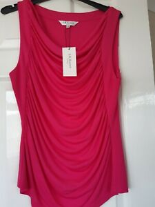 Top By L.K.BENNETT size M NWT free P&P