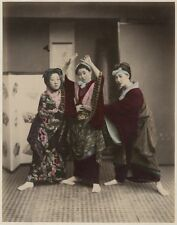 Photo Kimbéi Albuminé Japon Japan Tirage Original Vers 1880