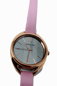 CERRUTI 1881 Pink Leather Elice Analogue Watch CRM19313