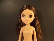 MOXIE GIRLZ MGA NUDE FASHION DOLL BRUNETTE PIGTAILS BROWN EYES #12