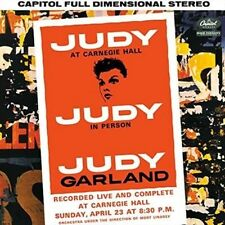 Judy at Carnegie Hall [10/2] by Judy Garland (Vinyl, Oct-2015, Capitol)